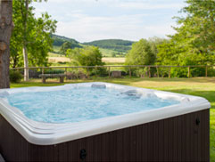 Luxury cottages with hot tubs North Wales