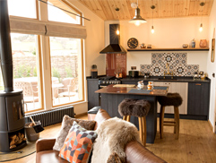 Cwtch Luxury Log Cabin North Wales