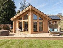 Gezellig Luxury Log Cabin North Wales