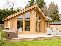 Hyggelig Luxury Log Cabin North Wales