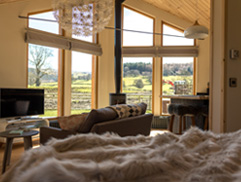 Lagom Luxury Log Cabin North Wales