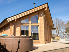 Cool Luxury Log Cabins With Hot Tubs In North Wales Best Image Libraries Thycampuscom