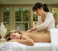 Relax with a massage in your cottage
